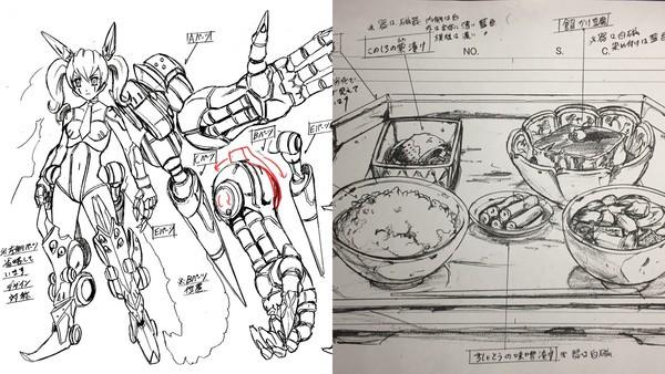 Ξ鋼彈他設計的!森木靖泰自嘲「太會畫吃的」被迫轉行食物設計師